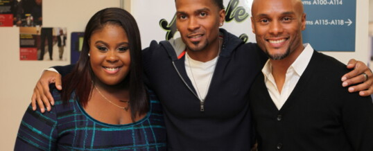 Kenny Lattimore & Raven Goodwin Participate In Youth Forum